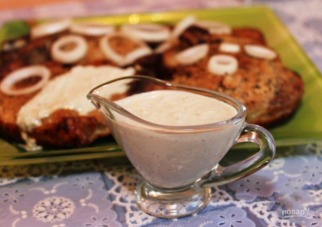 Как сделать белый соус к шашлыку 95