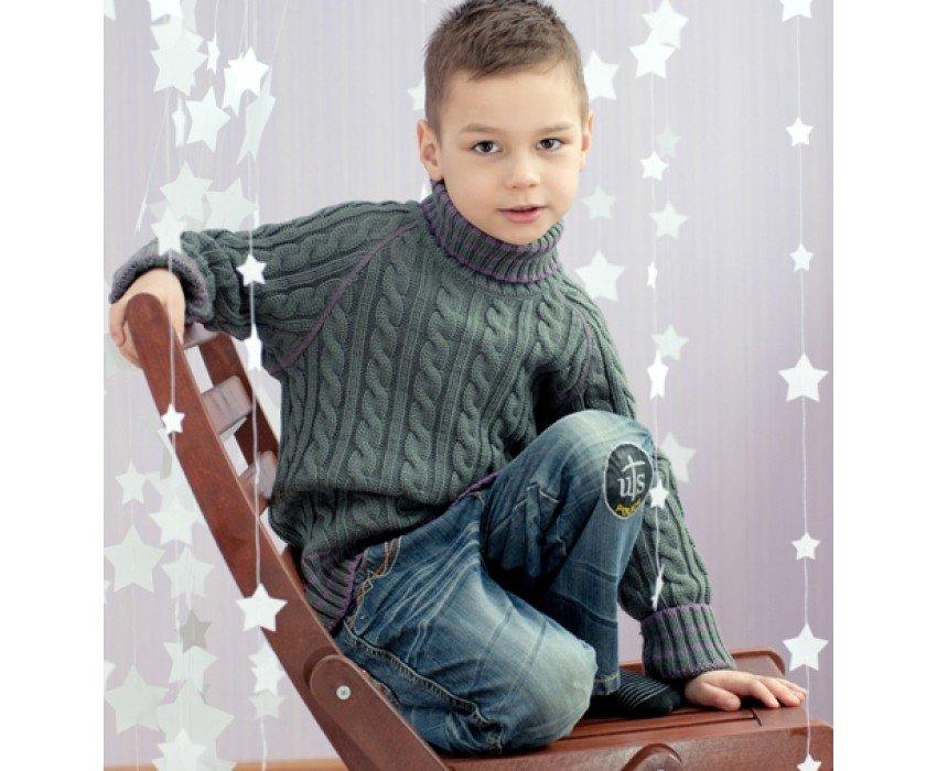 Вязание джемпер на мальчика 15 года 7