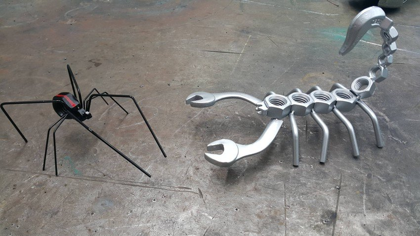 Поделки для дома из металла своими руками 90