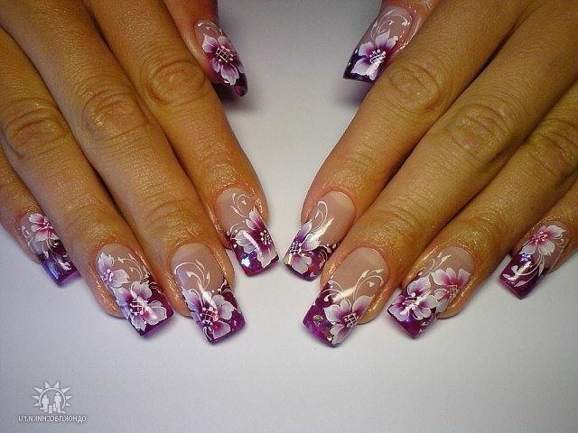 Дизайн красивых ногтей гелевых