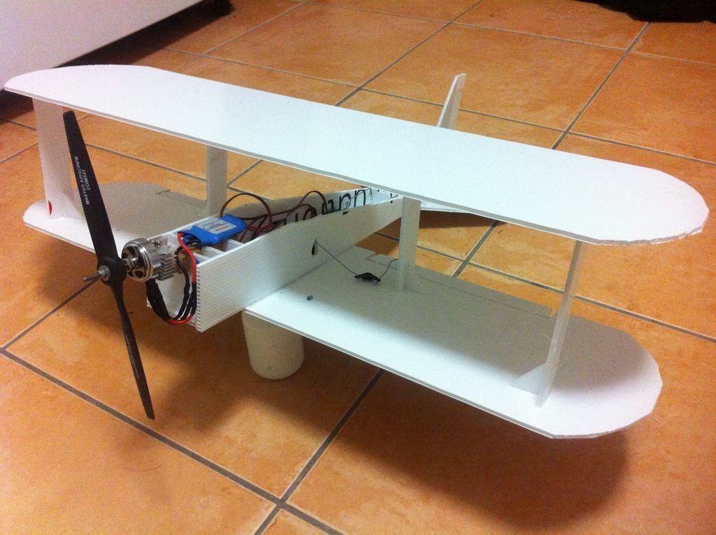 Модели самолетов из пластика своими руками