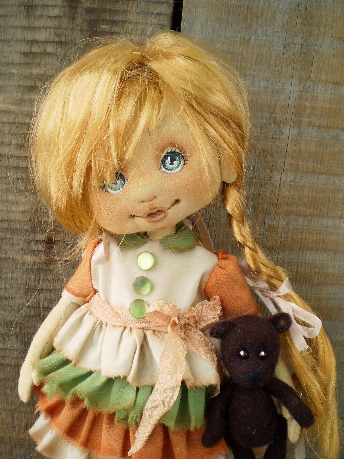 Сшить большую куклу своими руками фото