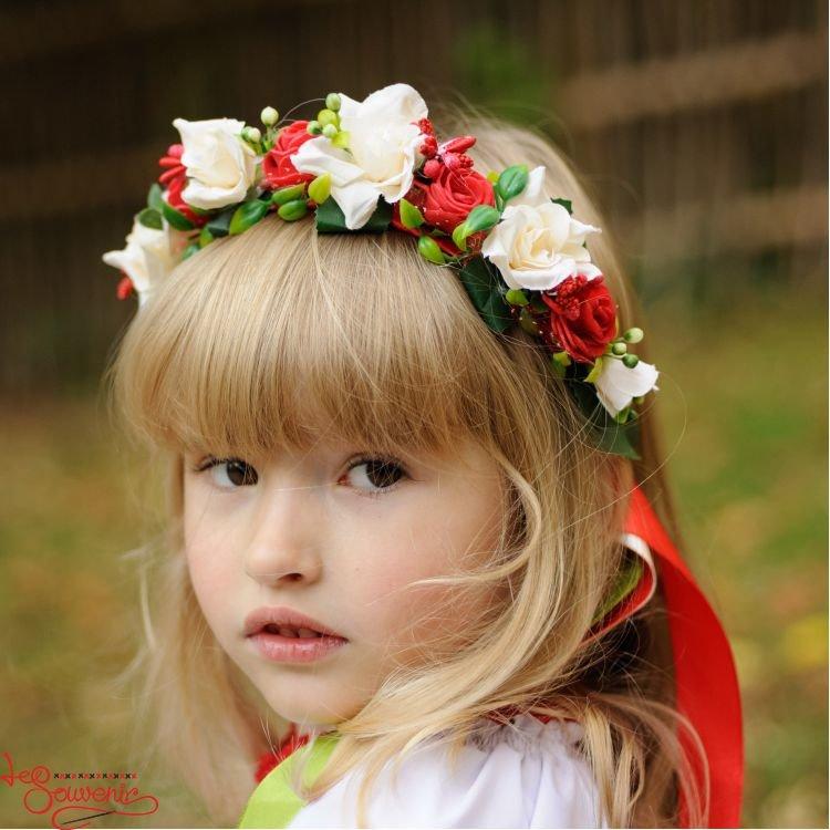 Русско народные венки на голову своими руками