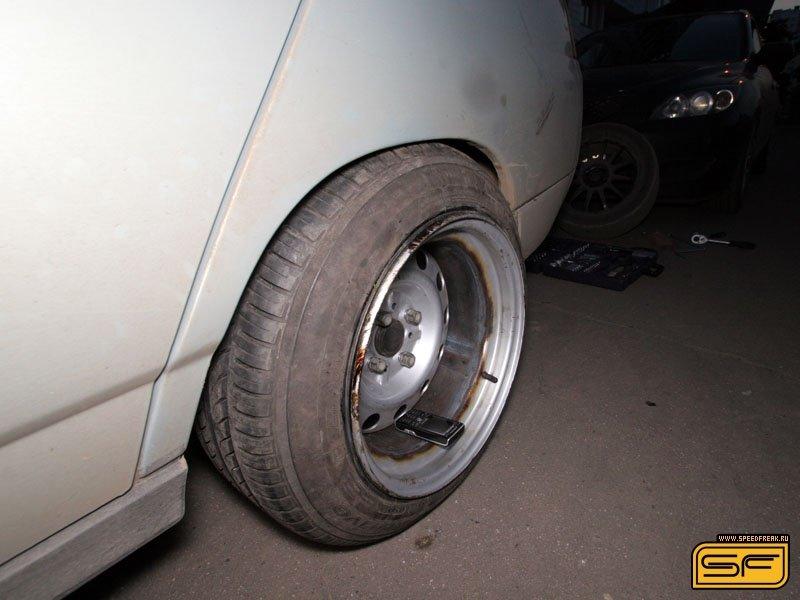 Как самому сделать разварку на колесо