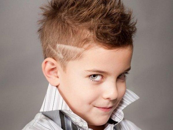 Прическа для мальчика 6лет