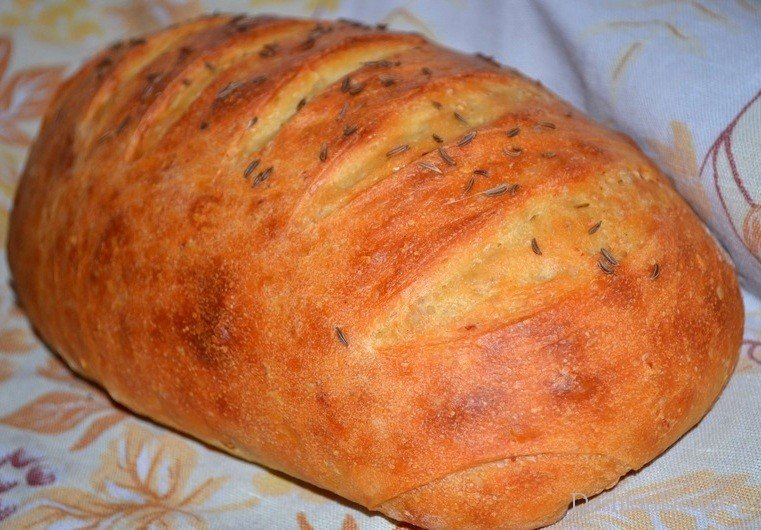 Рецепт хлеба в духовке в домашних условиях с сухими дрожжами с пошагово