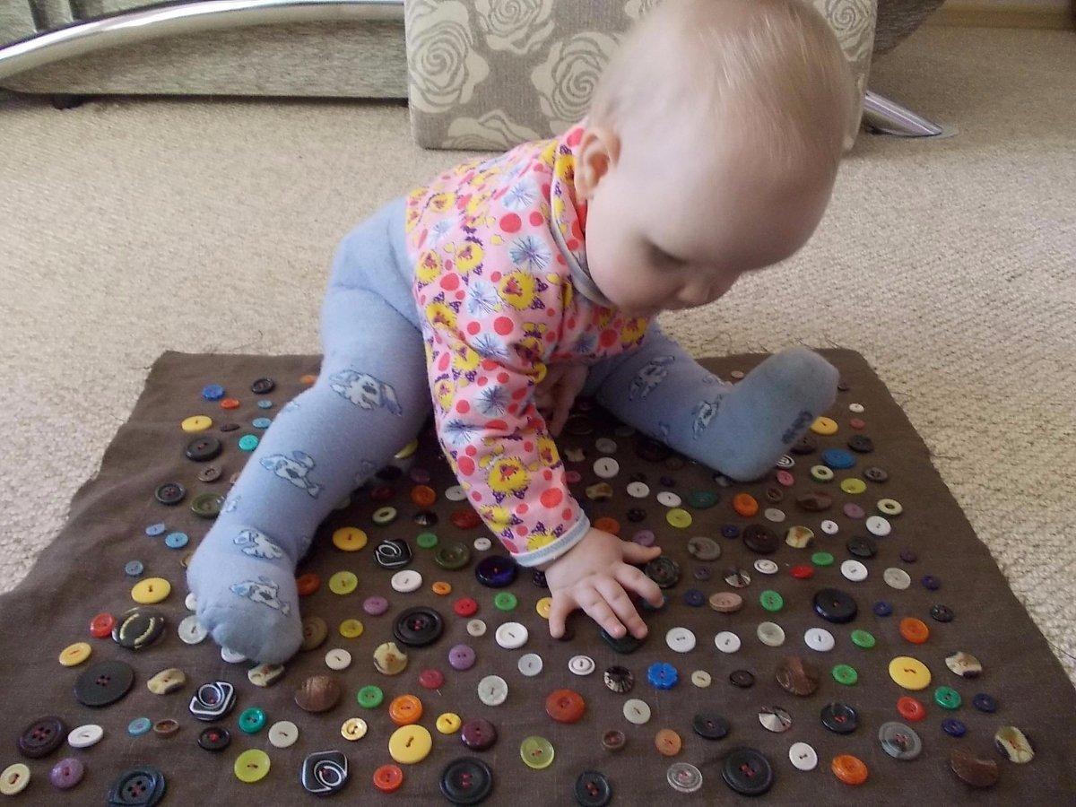 Игры своими руками для детей до 1 года