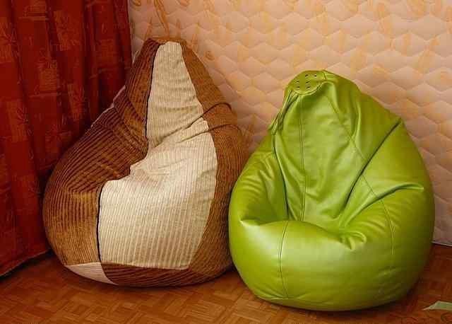 Наполнить кресло мешок своими руками