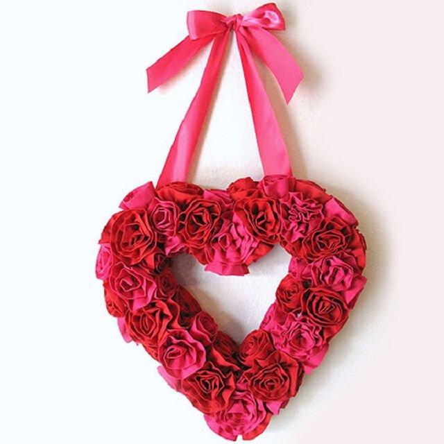 Ко дню святого валентина сердце своими руками