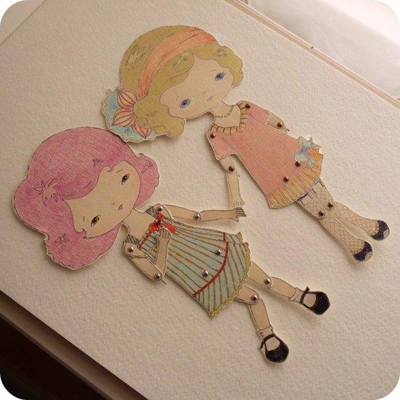 Кукла из картона своими руками мастер класс