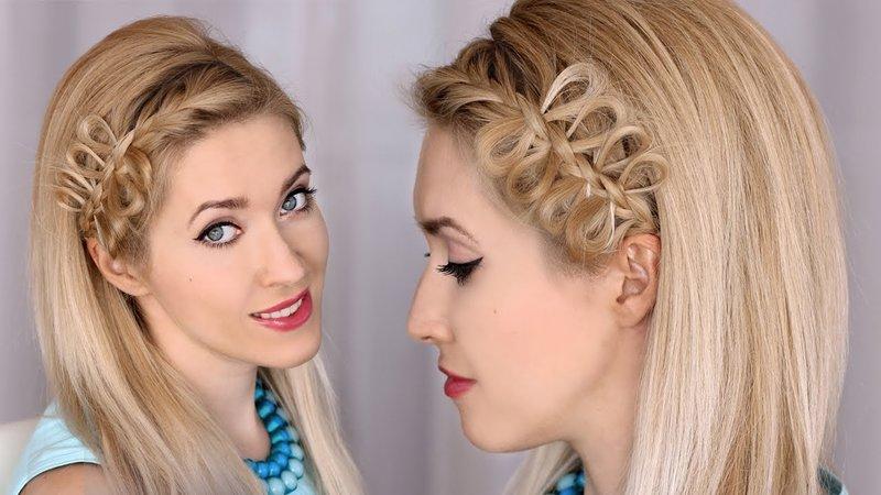 Красивые причёски на волосы каре