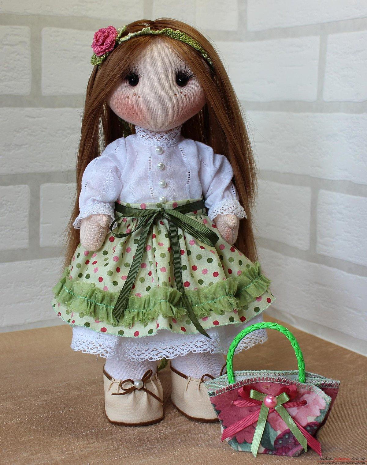 Все о куклах из текстиля своими руками