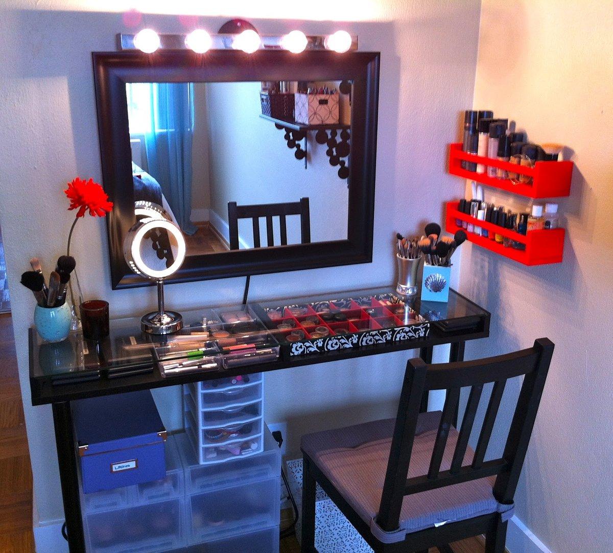 Как своими руками сделать зеркало для макияжа 33