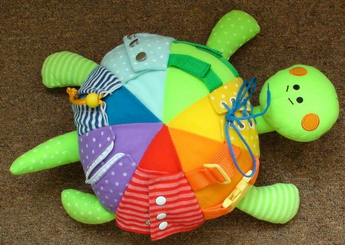 Развивающие поделки и игрушки
