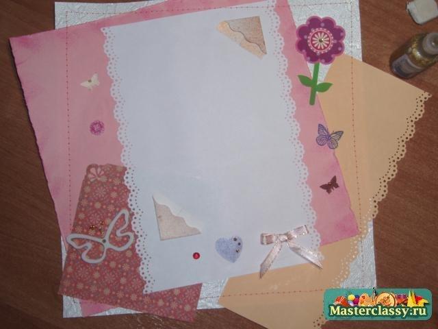 Альбом для новорожденного своими руками скрапбукинг пошагово мастер класс 35