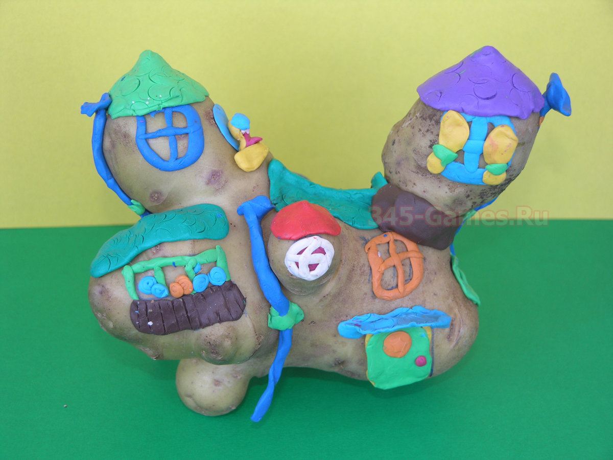 Поделки из картофеля в детском саду