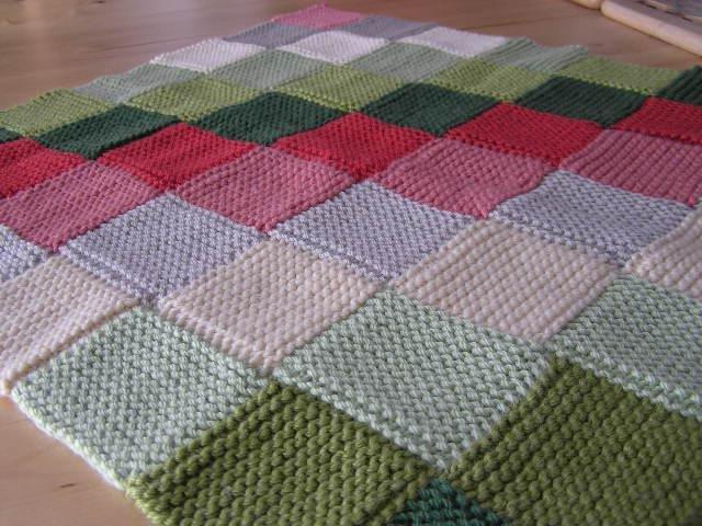 Вязания спицами для пледа 423