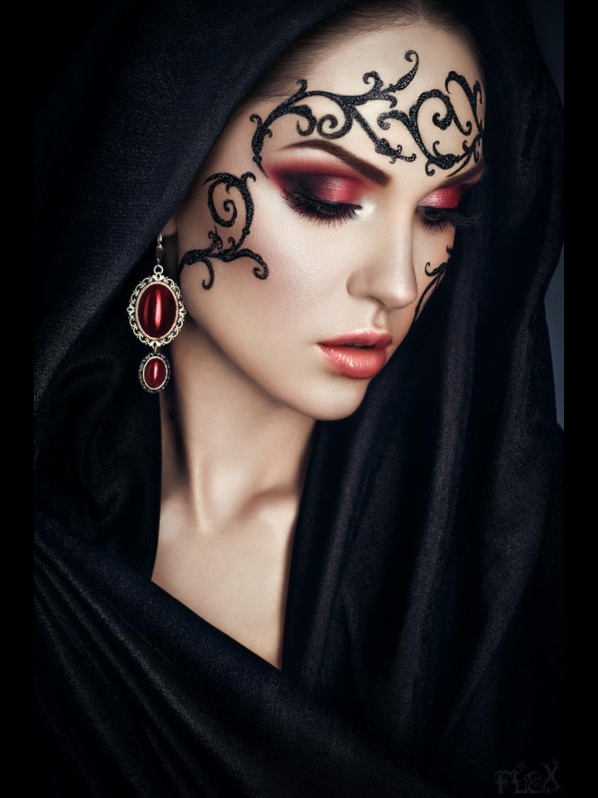 Фото готического стиля в макияже