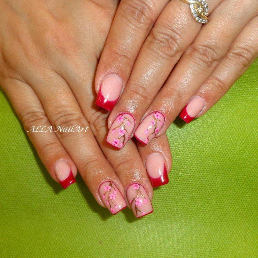 Дизайн ногтей квадратной формы
