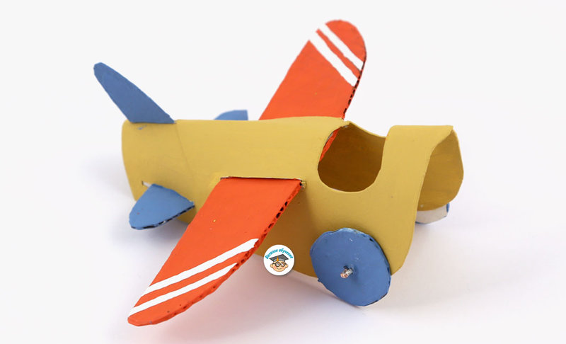 Самолёты для детей поделки
