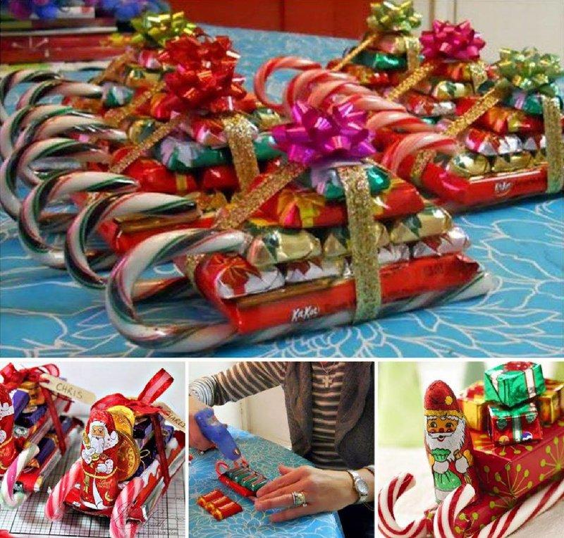 Вкусные подарки новый год своими руками