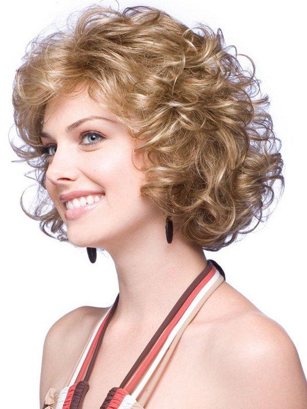 Фото прически из коротких тонких волос
