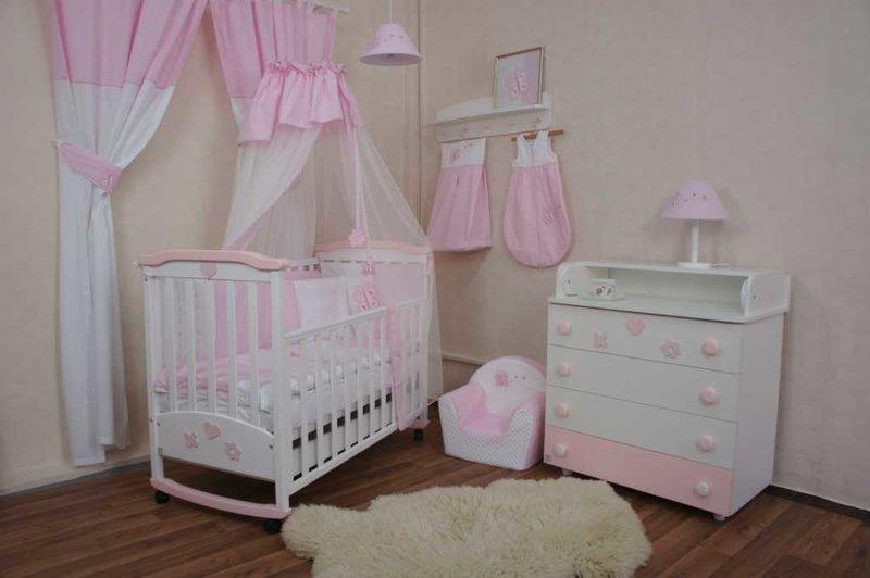 Комната для новорожденной девочки своими руками