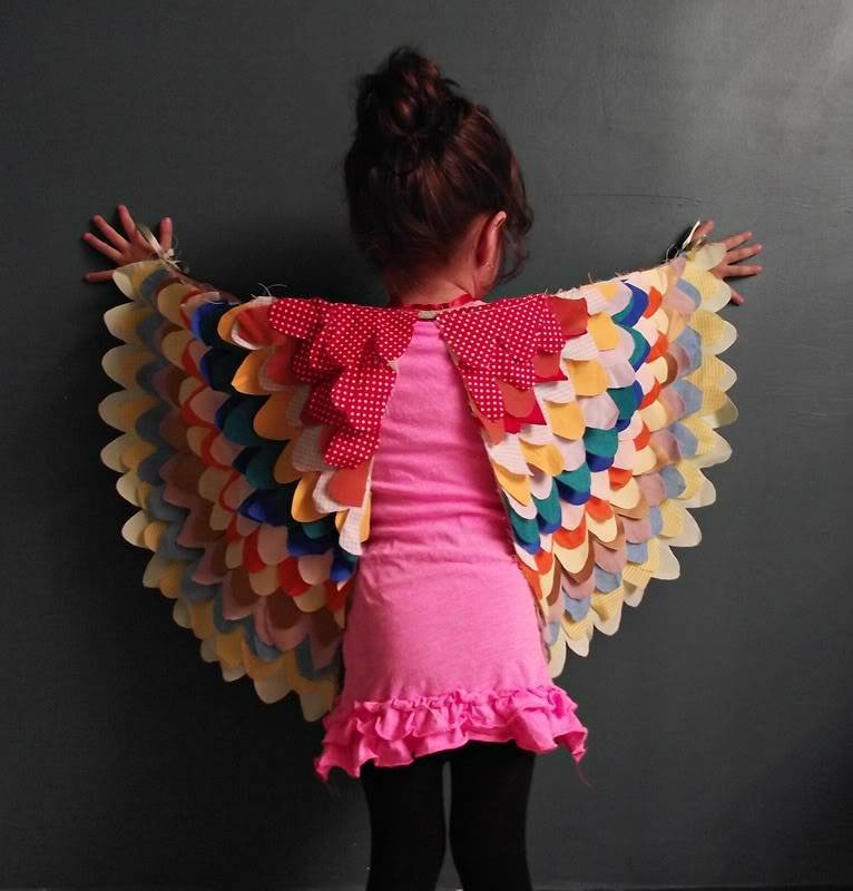 Как сделать крылья для курицы своими руками