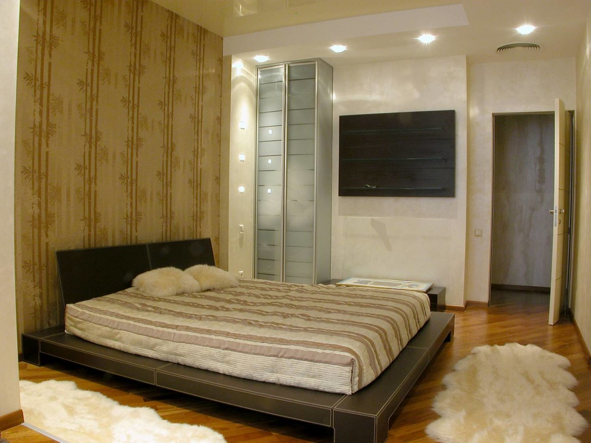 Идеи обычного ремонта спальни фото