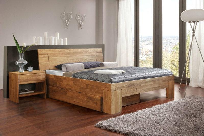 Двуспальная кровать своими руками из мебельного щита своими руками