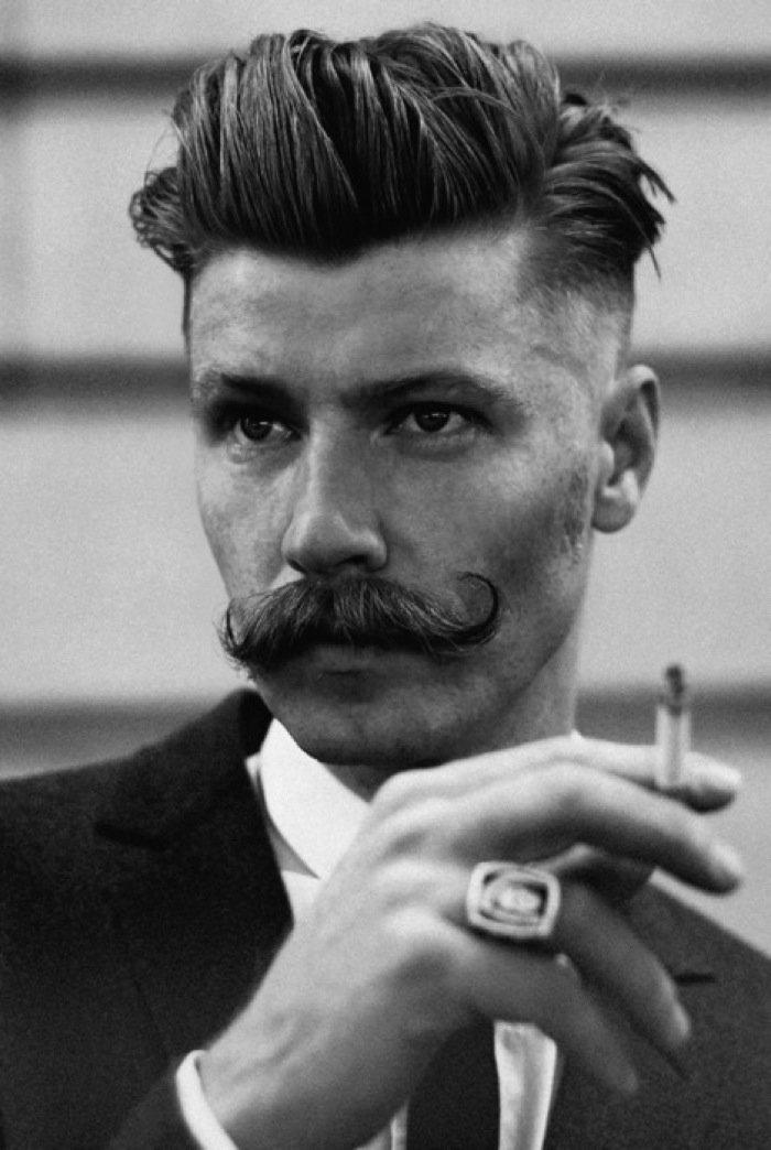 Фото мужских причесок 50 х годов