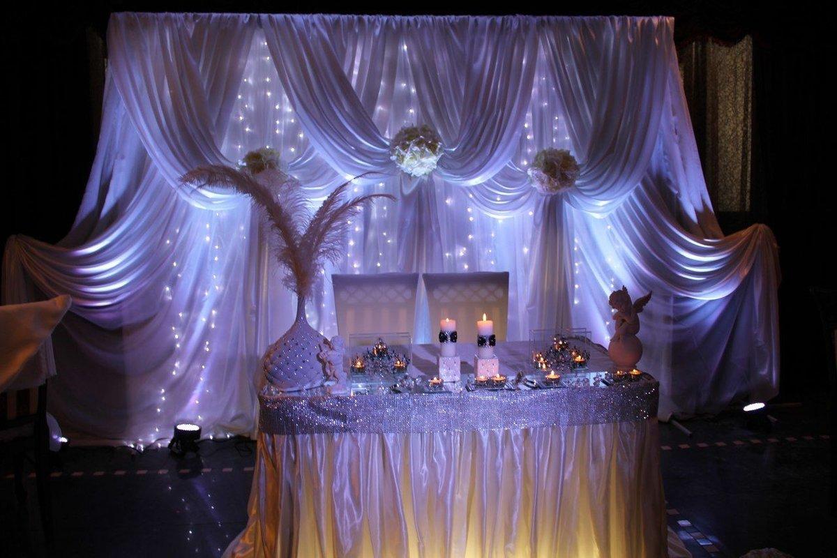 Оформление зала фото свадьбе цены