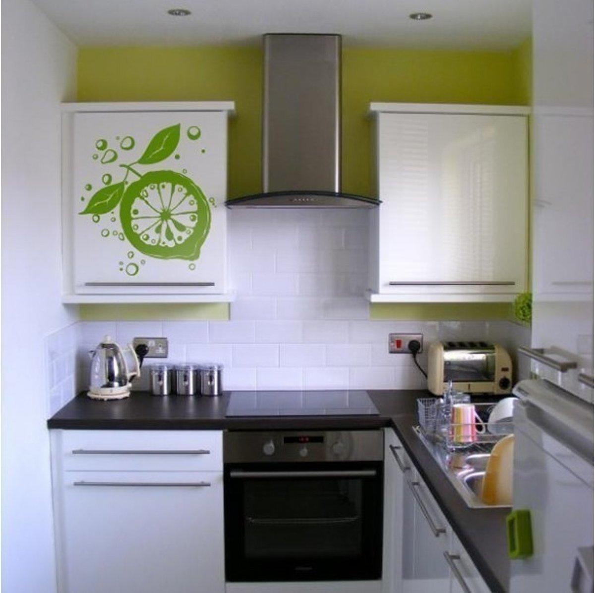 Кухонный гарнитур в маленькой кухне своими руками фото