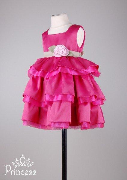 Платье с воланами девочке