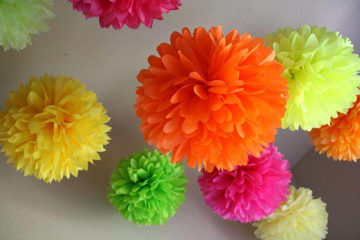 Цветы для праздника своими руками