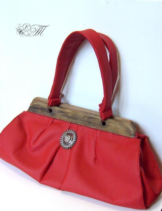 Своими руками сумки красные