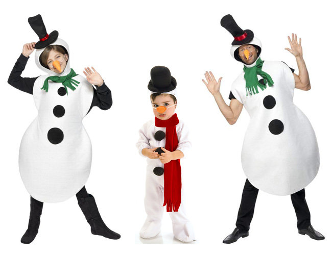 Снеговик костюм своими руками