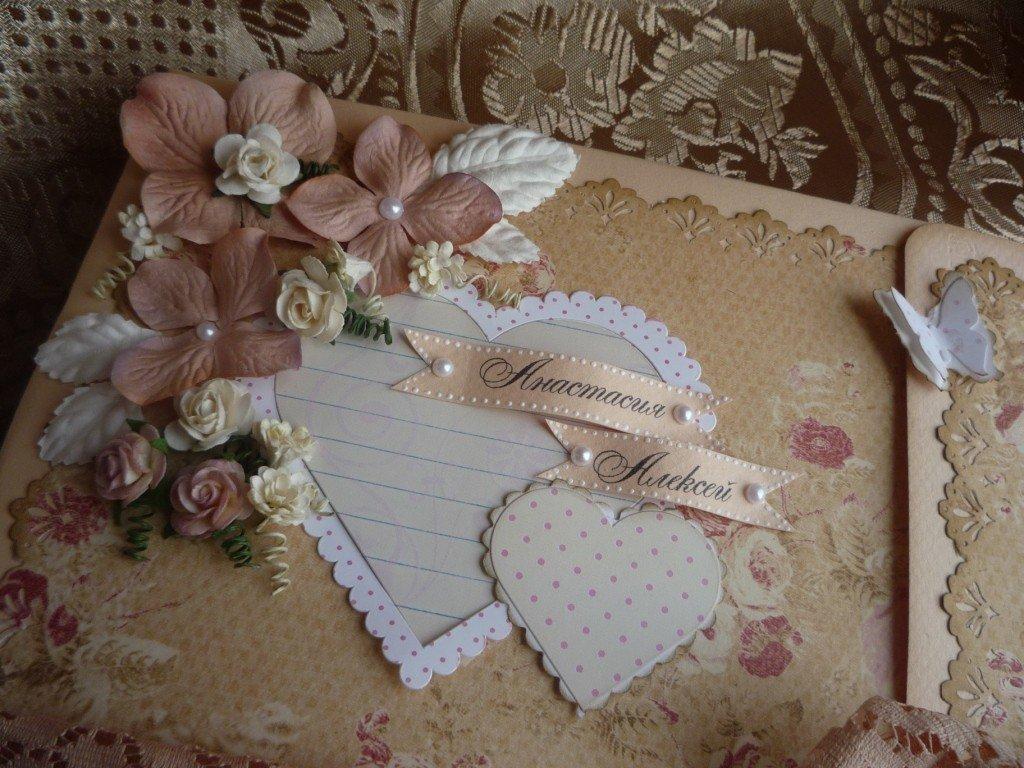 Свадебный украсить фотоальбом своими руками 46