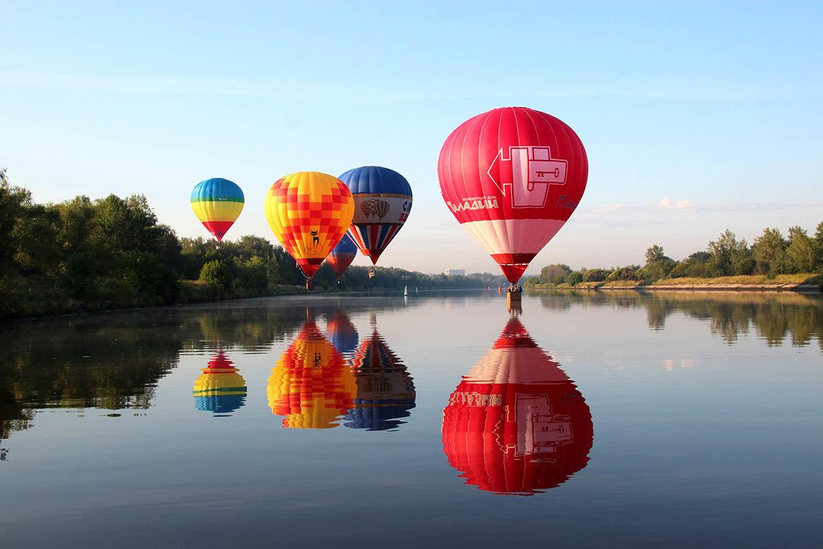 Подарок впечатление полет на воздушном шаре 70