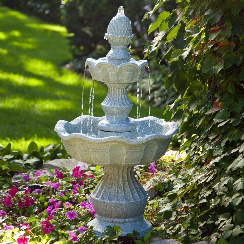 Садовый фонтанчик своими руками фото