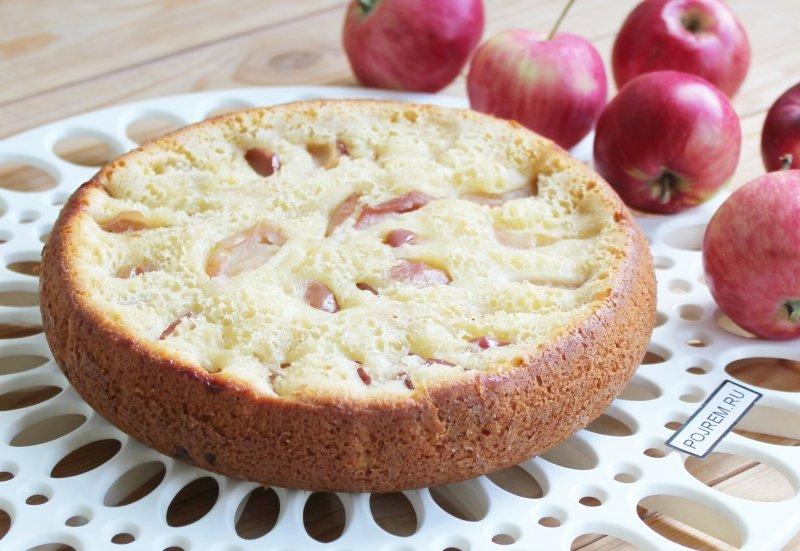 Пирог с яблоком и бананом в мультиварке рецепты с