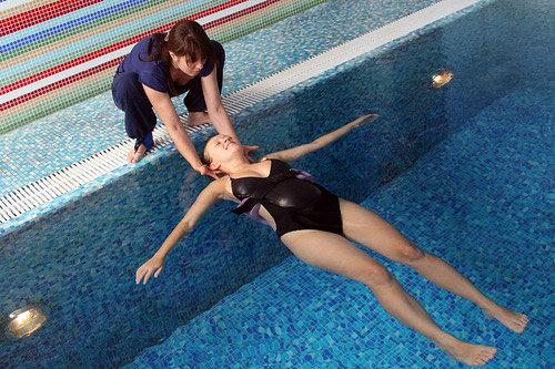 Температура воды в бассейне для беременных в 22