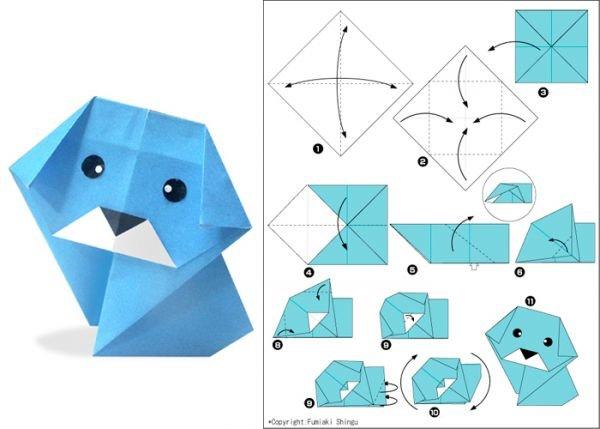Мастер класс по оригами из бумаги