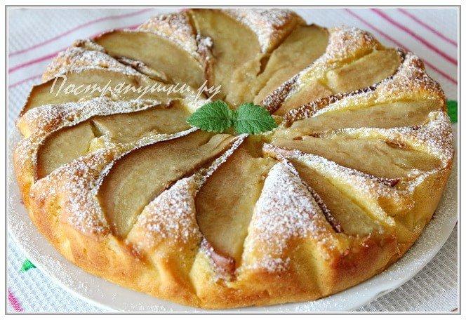 Пирог с грушами в духовке пошаговый рецепт от юлии