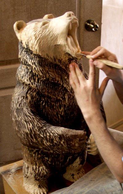 Как сделать мишку своими руками из дерева