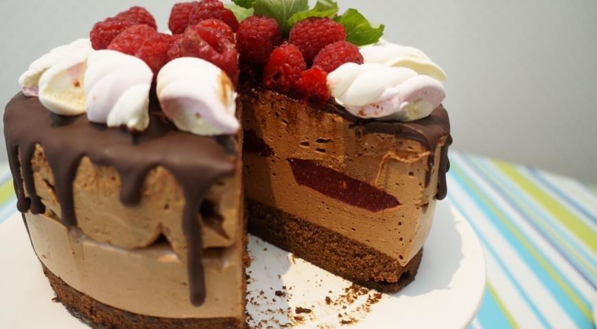 Торты с суфле рецепты с фото