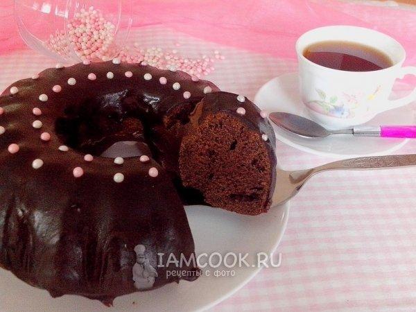 Кекс с какао рецепт простой