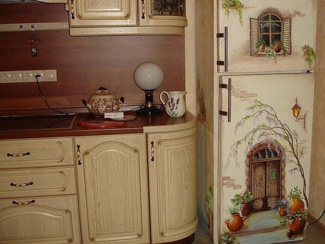 Украсить кухонную мебель своими руками 20