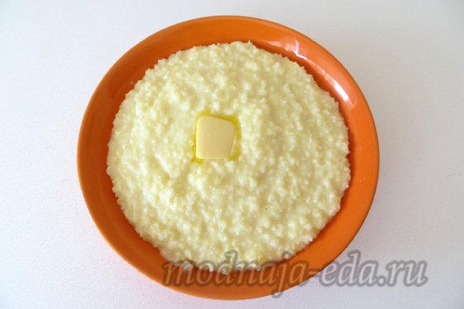 Пшённая каша на молоке рецепт с фото пошагово в мультиварке