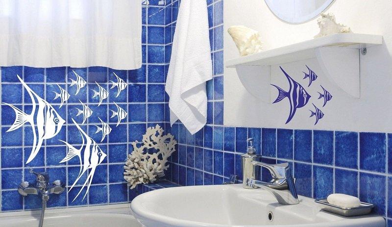 Плитка на стену в ванную комнату своими руками 76